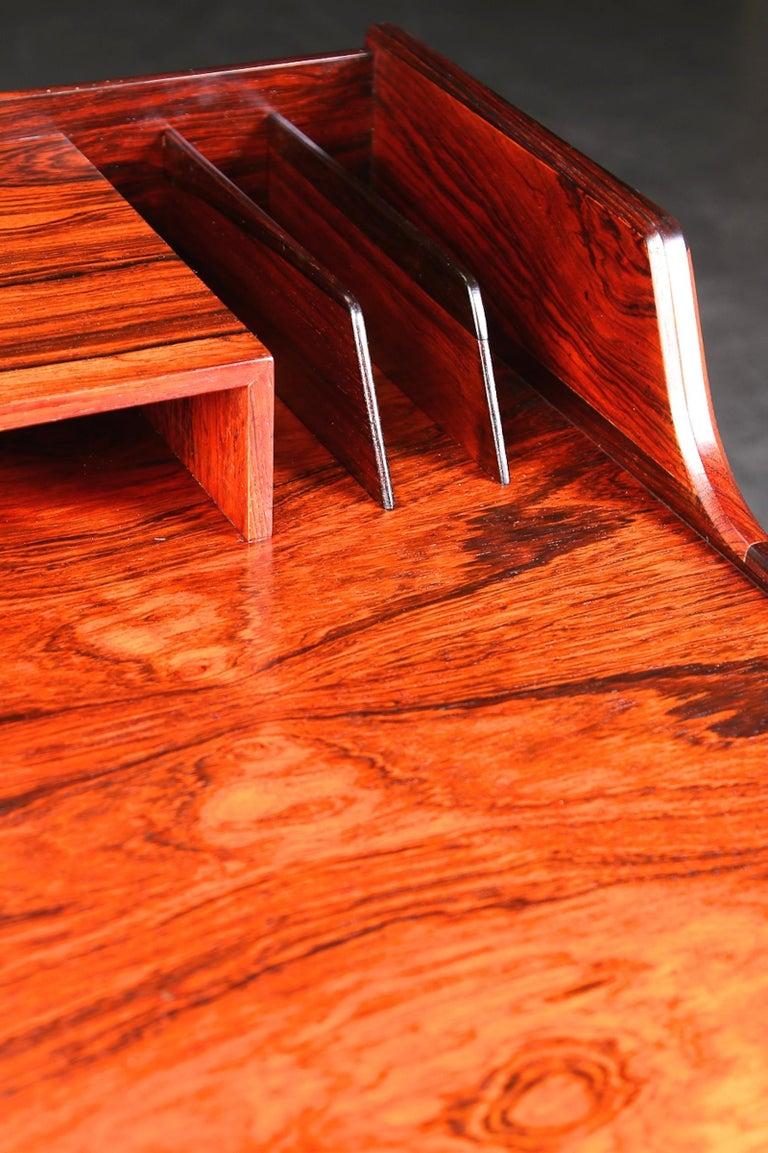 Arne Wahl Iversen Rosewood Desk, 1970 For Sale 3