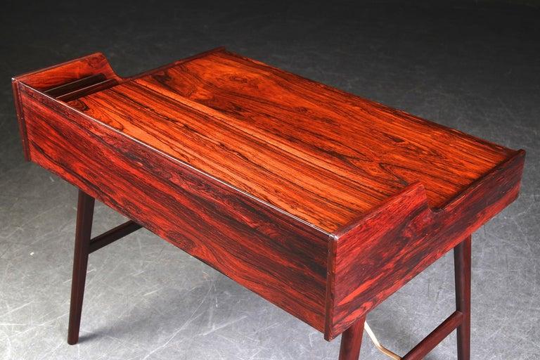 Arne Wahl Iversen Rosewood Desk, 1970 For Sale 2
