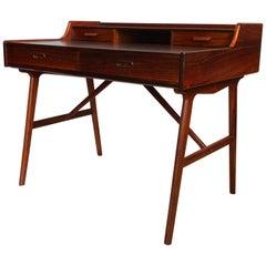 Arne Wahl Iversen Rosewood Desk, Vinde, Denmark