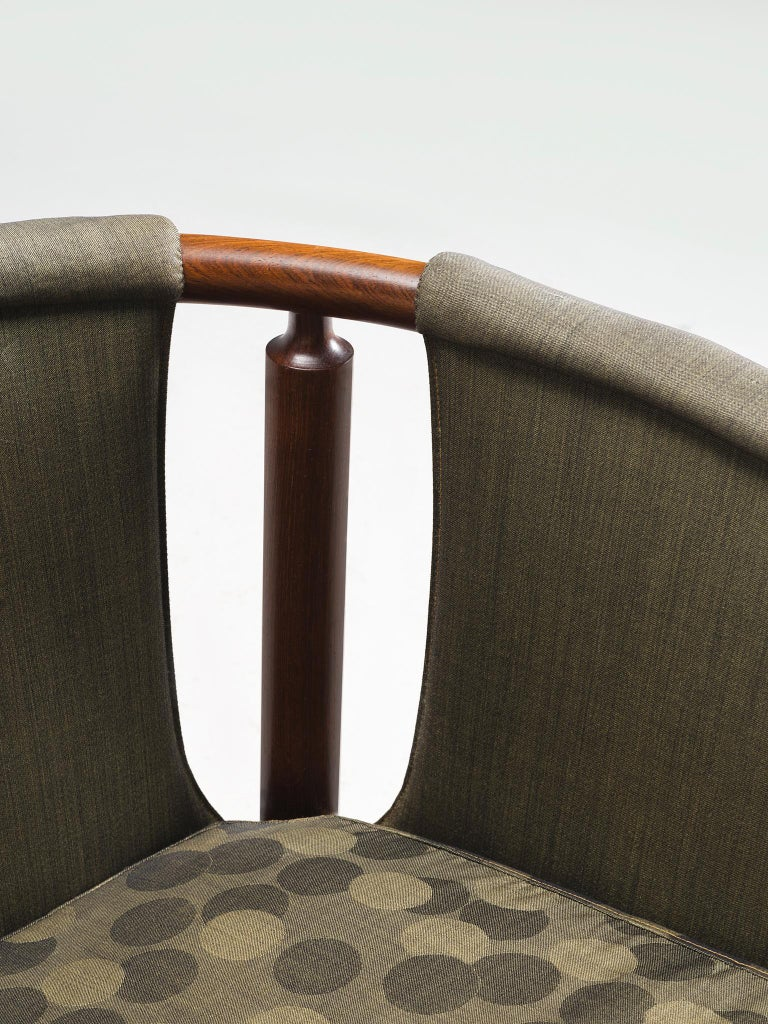 Arne Wahl Iversen Set of Rosewood Armchairs For Sale 1
