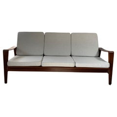 Arne Wahl Iversen Set of Sofa and 2 Armchairs for Komfort, 1960's