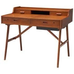 Arne Wahl Iversen Small Desk in Teak