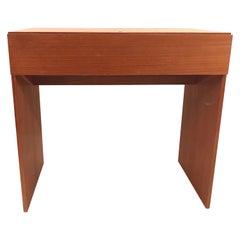 Arne Wahl Iversen Teak Vanity Desk for Vinde