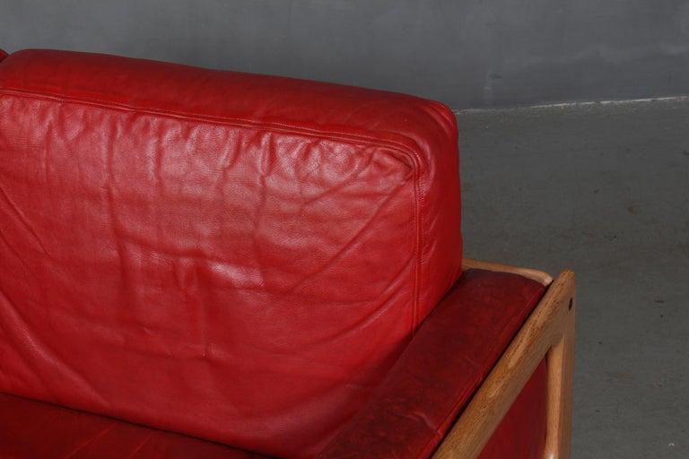 Scandinavian Modern Arne Wahl Iversen, Two Seat Sofa For Sale
