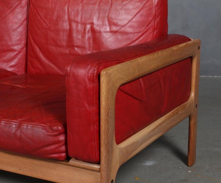 Danish Arne Wahl Iversen, Two Seat Sofa For Sale