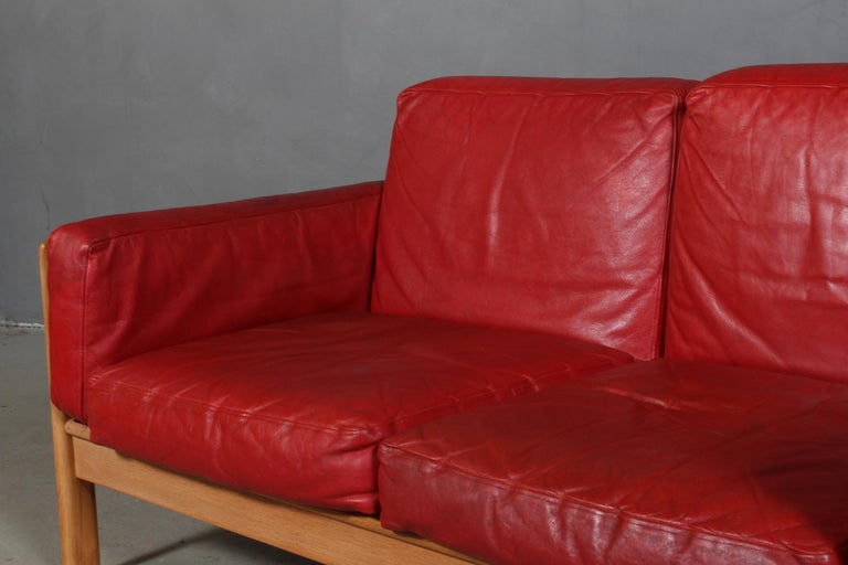 Arne Wahl Iversen, Two Seat Sofa In Good Condition For Sale In Esbjerg, DK