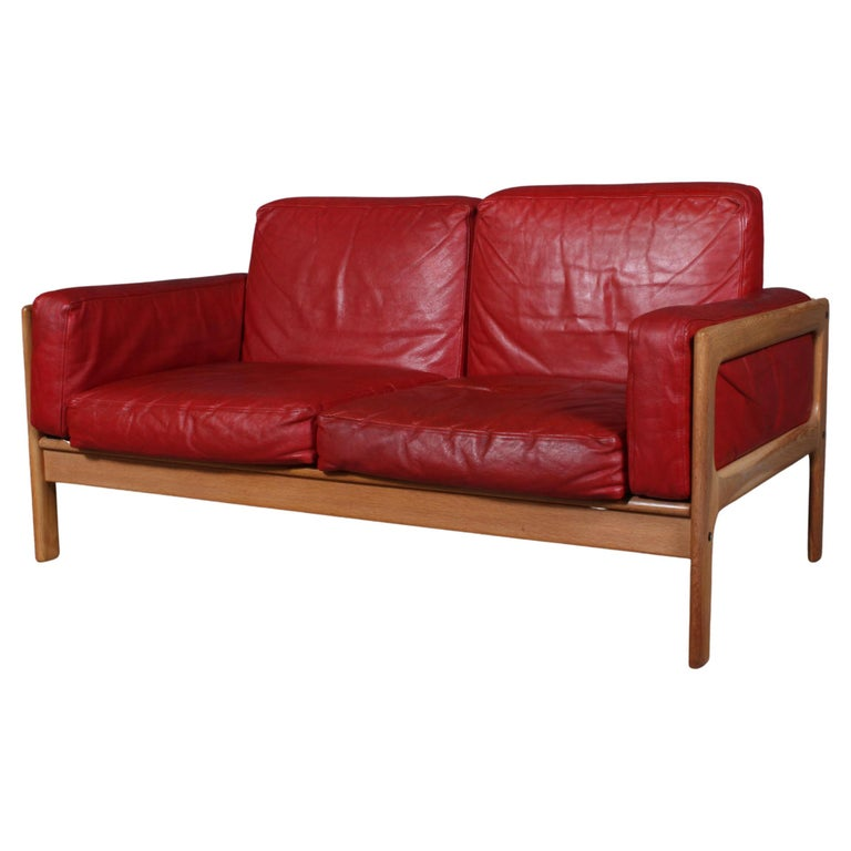 Arne Wahl Iversen, Two Seat Sofa For Sale