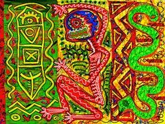 Ancient Language 1, Arno Hoth, digital painting, print on fine art paper