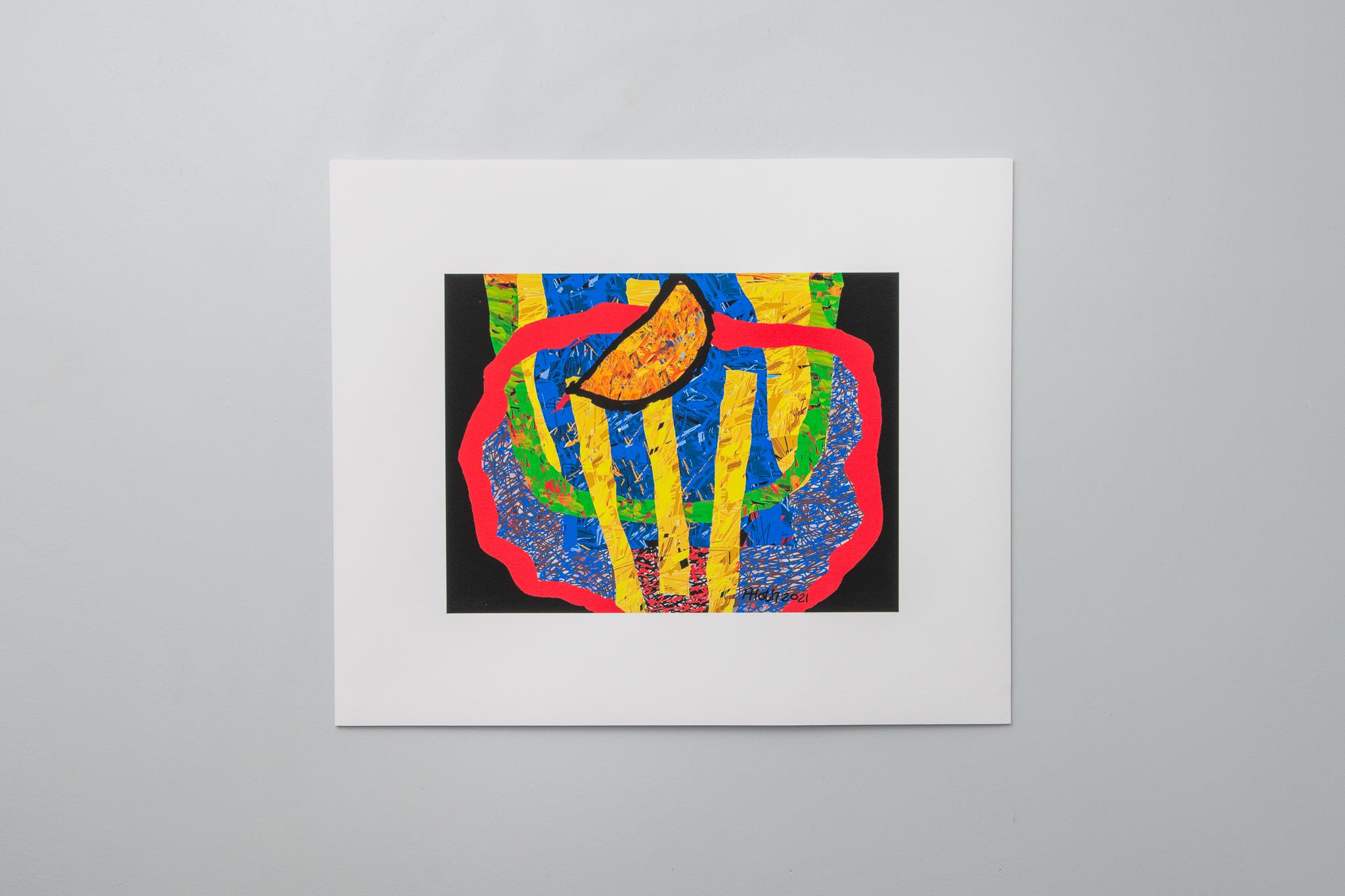 Black Moon Rising, Arno Hoth, digital print on fine art paper