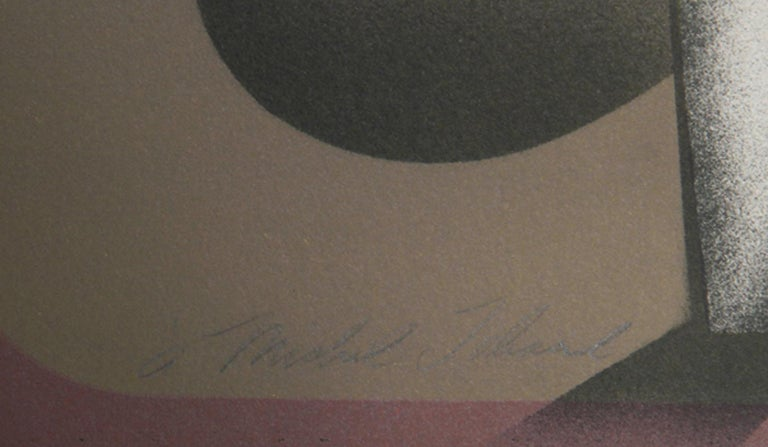 Cabeza, Lithograph by Arnold Belkin For Sale 1