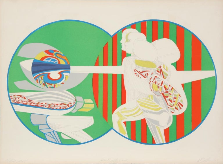 Artist: Arnold Belkin, Mexican (1930 - 1992) Title: Heart of the World Year: 1969 Medium: Lithograph, signed and numbered in pencil Edition: AP Size: 22 in. x 30 in. (55.88 cm x 76.2 cm