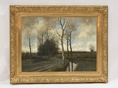 Landscape - Classical Art Ornamental Impressionist Major Oil Painting
