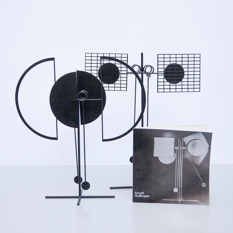 Arnulf Hoffmann Kinetic Pendulum Sculpture, 1969 For Sale 4