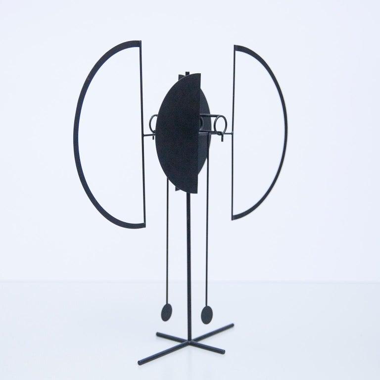 Painted Arnulf Hoffmann Kinetic Pendulum Sculpture, 1969 For Sale
