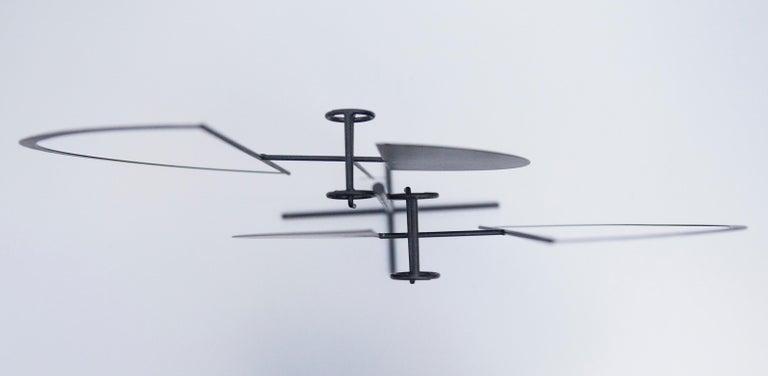 Mid-20th Century Arnulf Hoffmann Kinetic Pendulum Sculpture, 1969 For Sale