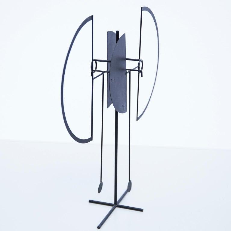 Iron Arnulf Hoffmann Kinetic Pendulum Sculpture, 1969 For Sale