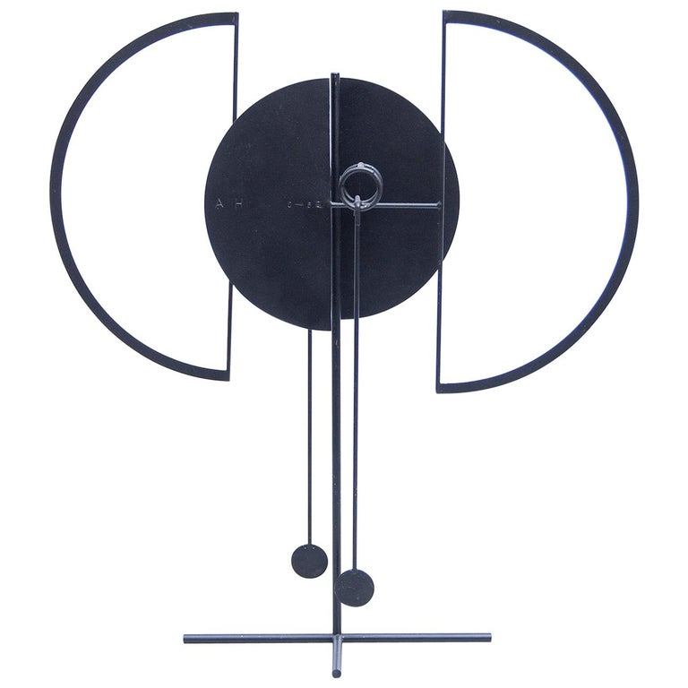 Arnulf Hoffmann Kinetic Pendulum Sculpture, 1969 For Sale