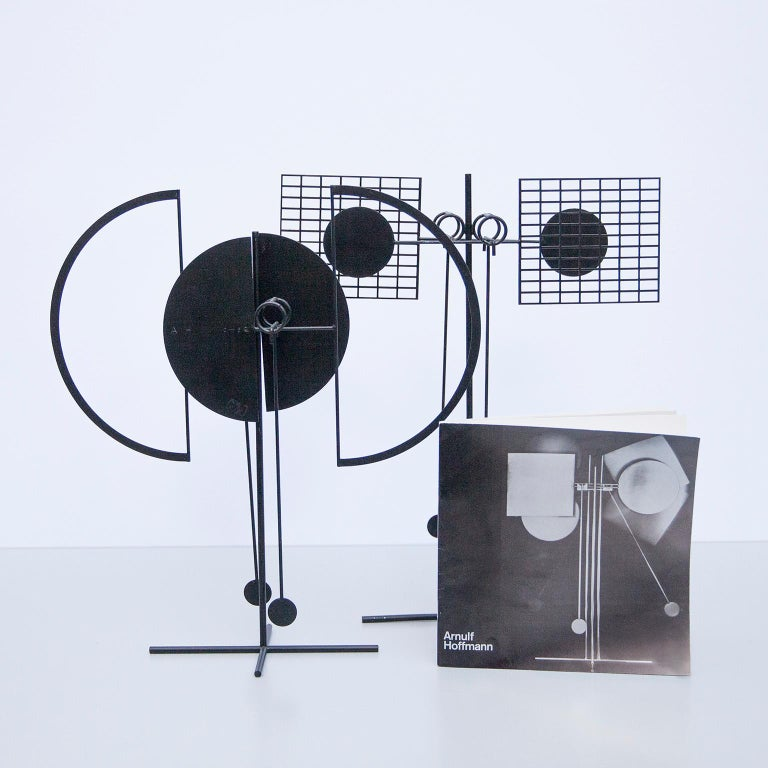 Arnulf Hoffmann Kinetic Pendulum Sculpture, 1973 For Sale 3