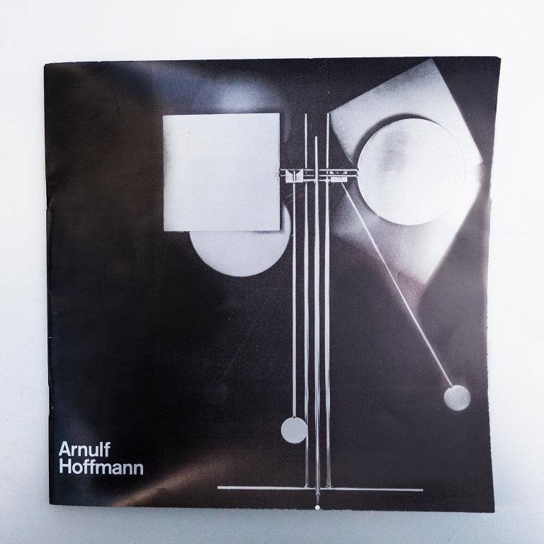 Arnulf Hoffmann Kinetic Pendulum Sculpture, 1973 For Sale 4