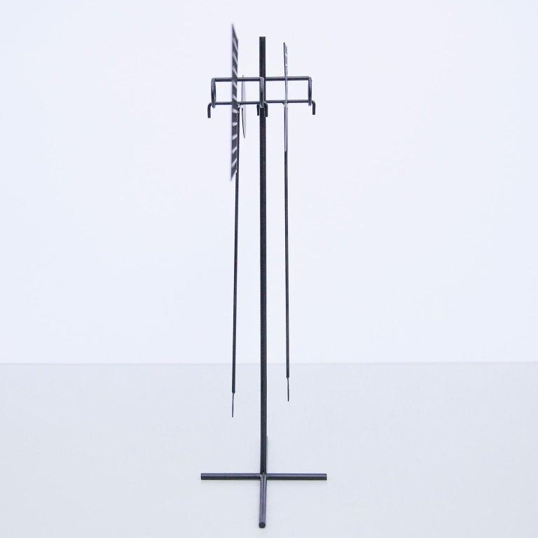Mid-Century Modern Arnulf Hoffmann Kinetic Pendulum Sculpture, 1973 For Sale