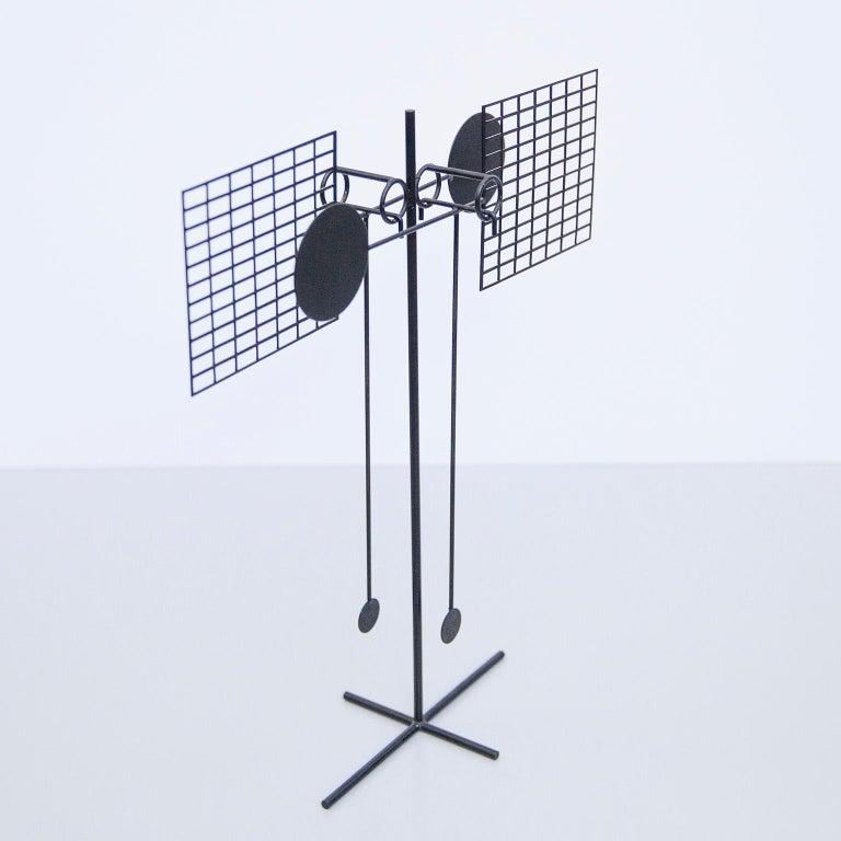 German Arnulf Hoffmann Kinetic Pendulum Sculpture, 1973 For Sale