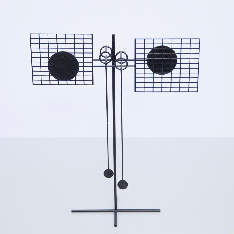 Painted Arnulf Hoffmann Kinetic Pendulum Sculpture, 1973 For Sale