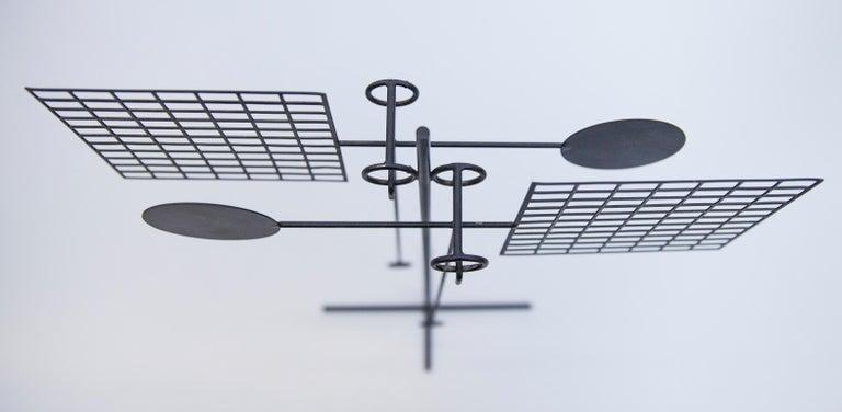 Arnulf Hoffmann Kinetic Pendulum Sculpture, 1973 In Good Condition For Sale In Munich, DE