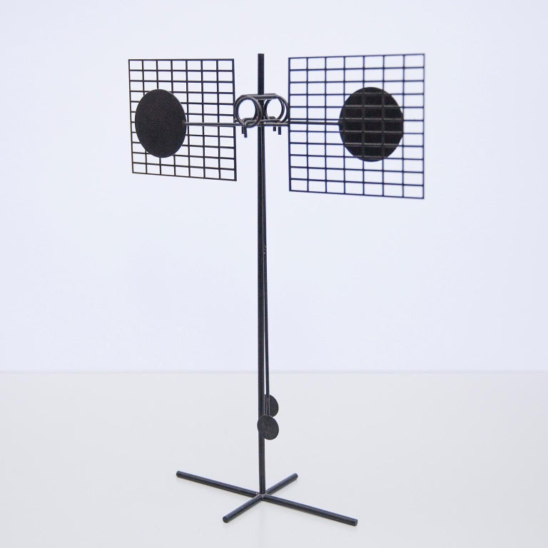 Arnulf Hoffmann Kinetic Pendulum Sculpture, 1973 For Sale 1