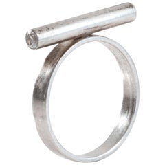 Aron Irving Li Minimalist Silver Ring
