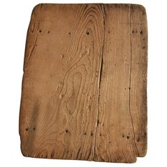 Around the 20th Century, Old Japanese Wooden Boards or Working Boards