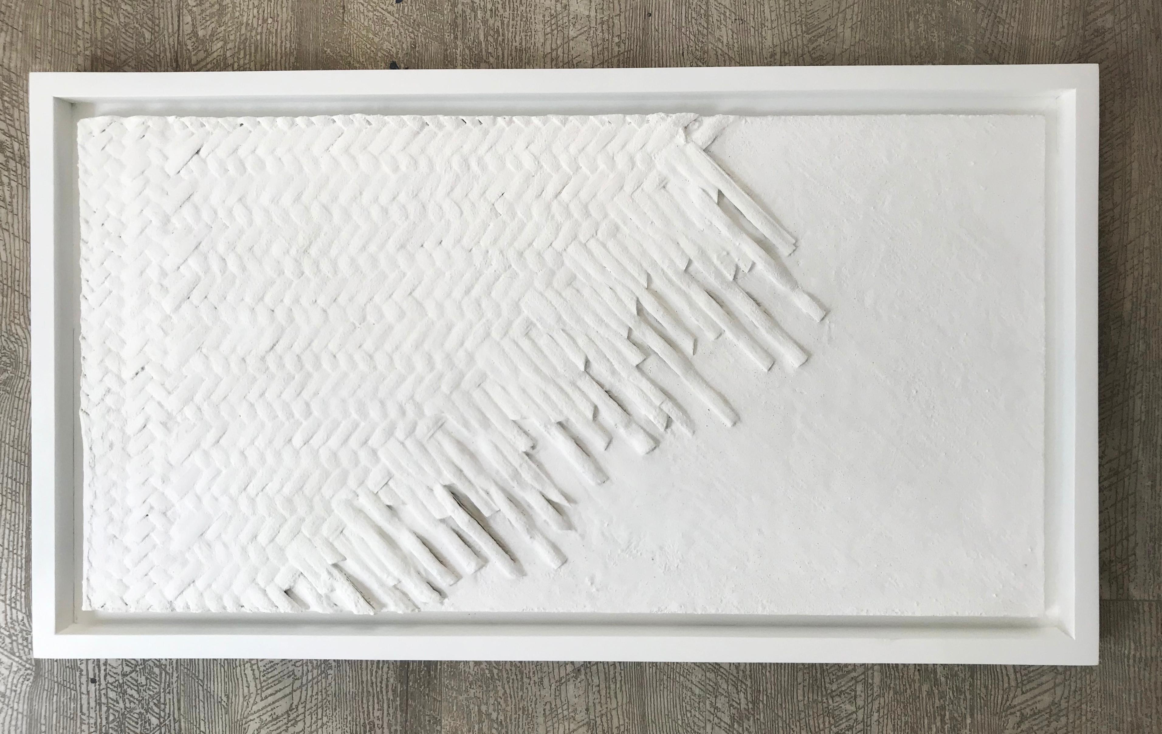 Artisanal Magic, White Elegant Abstract Patterns