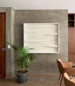 Elegant White Abstract Art for Modern Spaces