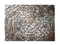 Beautiful Nature Wall Art, detailed tree trunk
