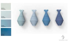 Blue Fish Wall Sculpture
