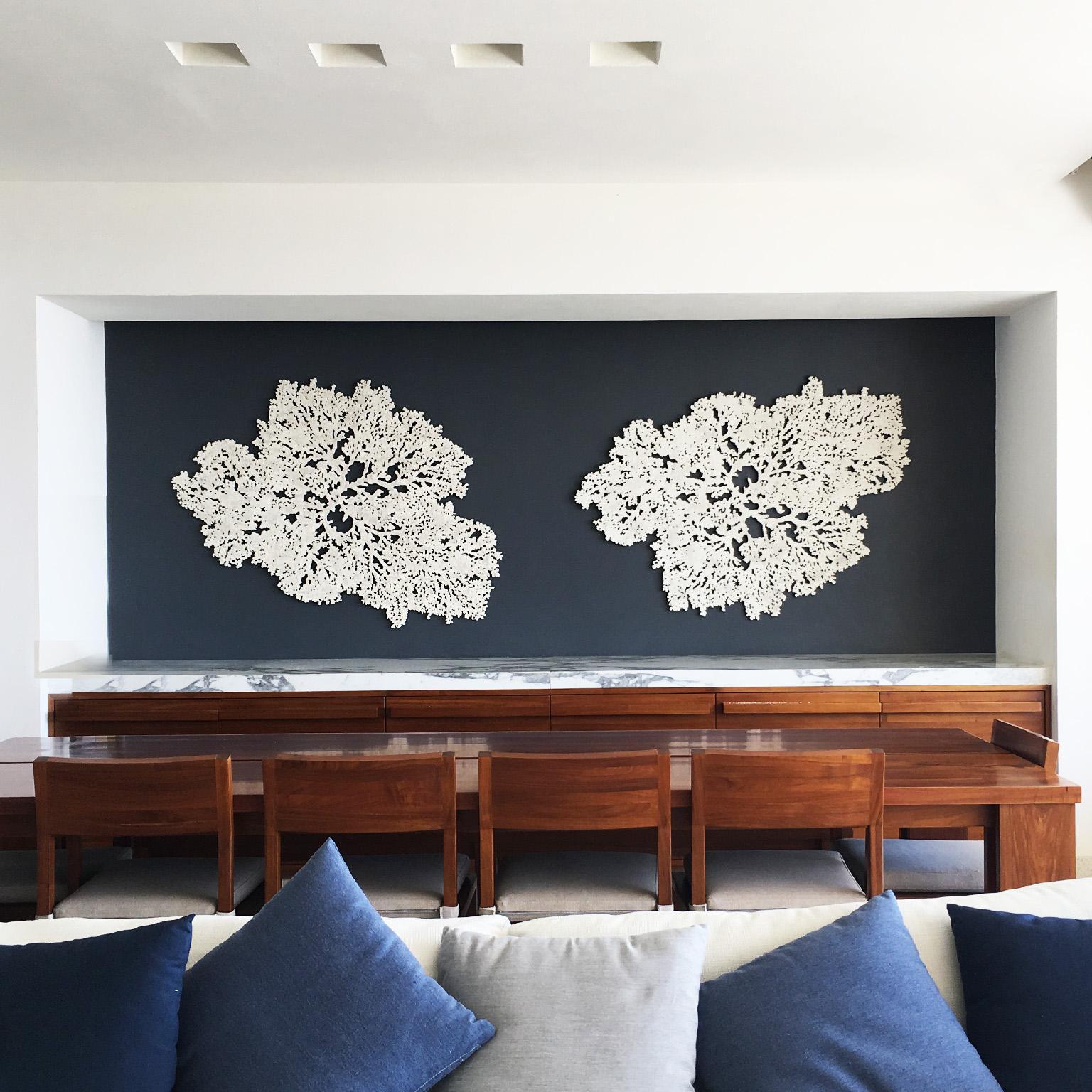 Coral Ocean   Elegant wall sculpture