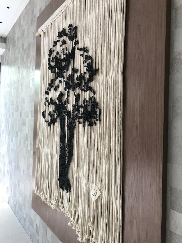 Elegant Hanging Tree Handmade With Pins For Sale 5