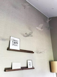 Hanging Birds Sculpture Ideal for Children´s Rooms and Outdoor Spaces