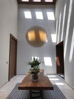 Hanging Elegant Circular Sculpture