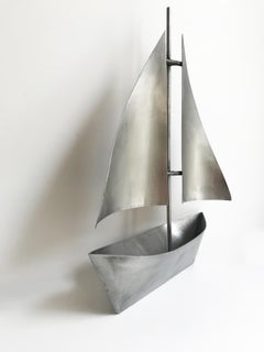 Sailboat Metal Sculpture