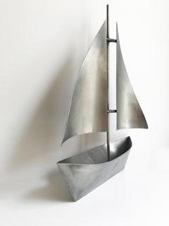 Sailboat Metal Sculpture