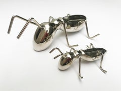 Solid Bronze Ant Sculpture