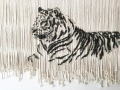 TIGER  Modern Animal Wall Art Sculpture For Hanging on Walls or Cieling