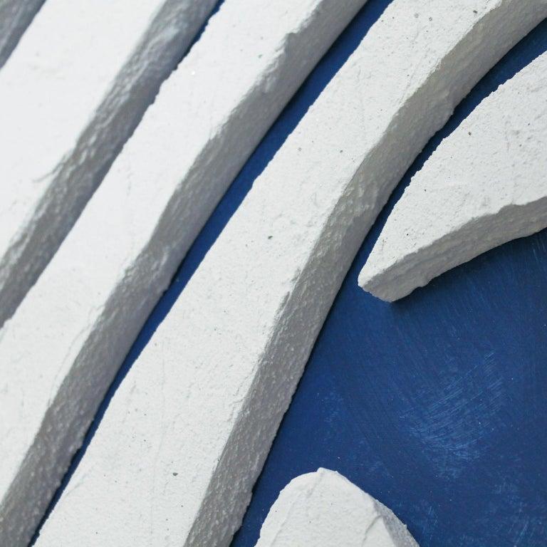 WAVES. Inspired in nature, sand textures, contemporary art.  - Contemporary Sculpture by Arozarena De La Fuente