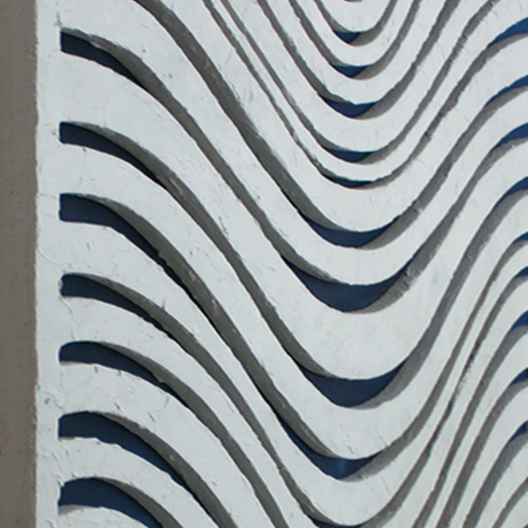 WAVES. Inspired in nature, sand textures, contemporary art.  For Sale 1