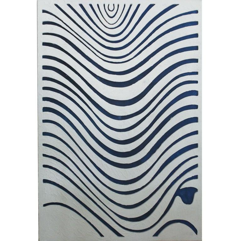 Arozarena De La Fuente Abstract Sculpture - WAVES. Inspired in nature, sand textures, contemporary art.