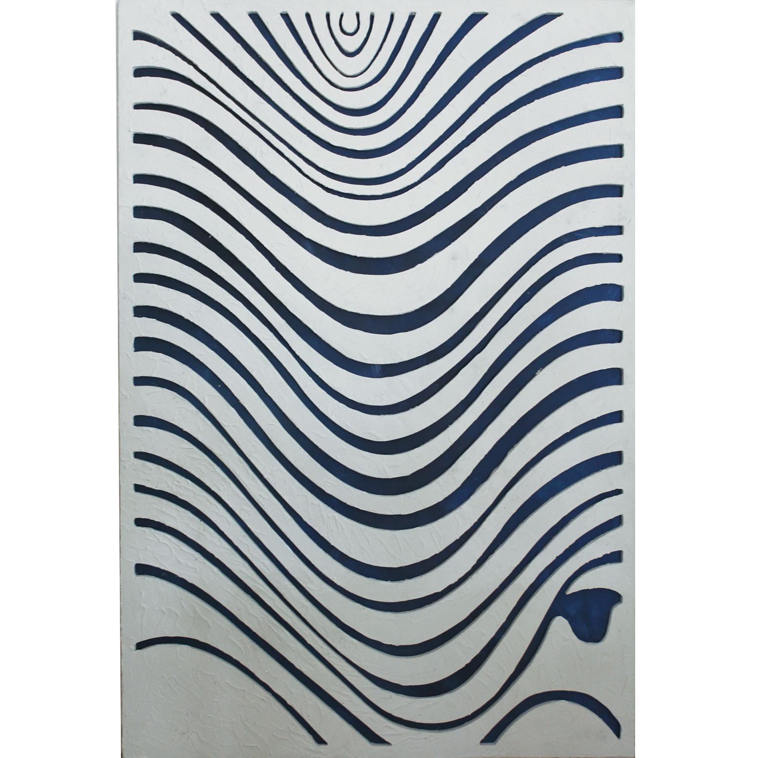 WAVES. Inspired in nature, sand textures, contemporary art.