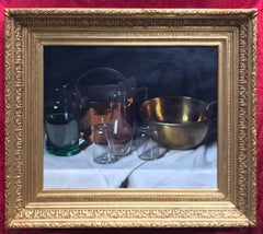 Still Life with Copper and Glasses