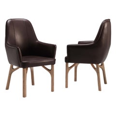 Arpeggio/S Dining Armchair in Leather