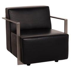 Arper Dream Leather Armchair Black Chair