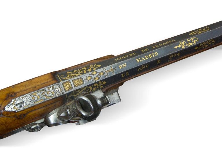 Arquebus. Miguel de Zegarra. Madrid, Spain, 1773-1774. For Sale 4